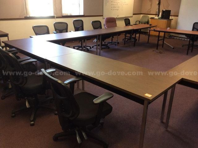 27pcs Training Room Furniture - Go-Dove