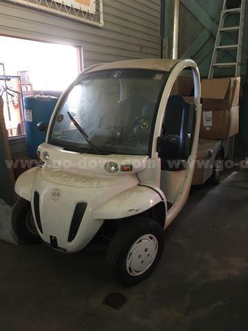 2002 GEM Flatbed Cart
