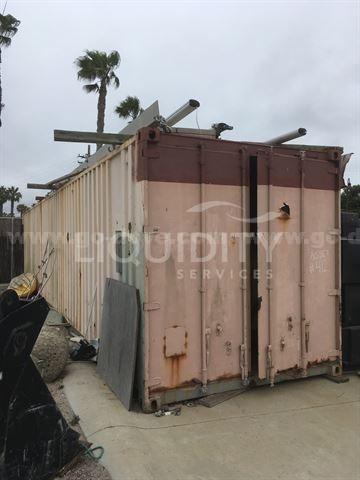 40 FT Oceancargo Container