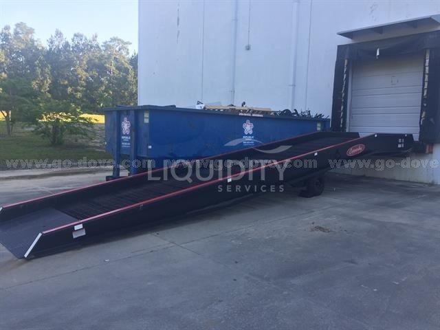 Mobile Yard Ramp, HSMR16-70-36PLS