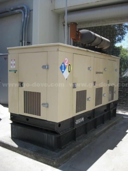 1996 Generac 96A 03095 S Diesel Backup Generator