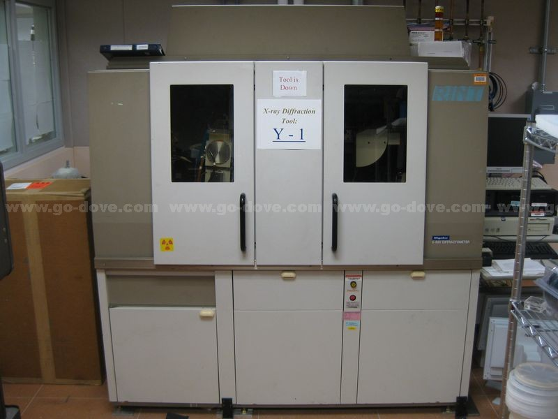 1995 Rigaku D/max-2500 RINT Theta-Theta XRD High-Resolution Rotating Anode X-Ray