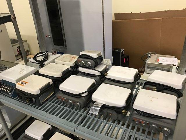 12 Ea., Ceramic Top Hot Plate Stirrers