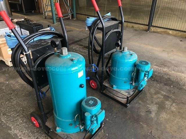 2 Ea., CC Jensen portable oil filters, HDU 27/27 & HDU 27/54