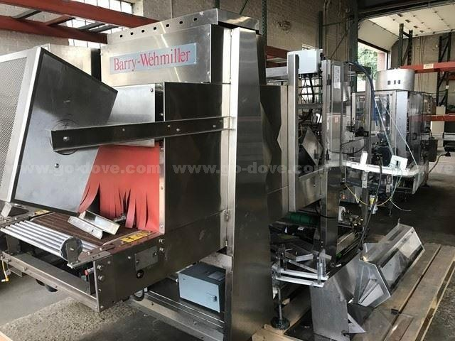 1997 Barry-Wehmiller SA-27DL Heat Wrapping Machine
