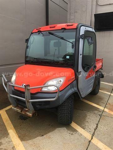 Kubota Diesel 4x4 Utility Vehicle. Mdl. RTV1100