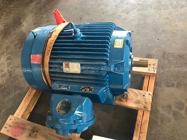 60 HP Reliance AC Motor