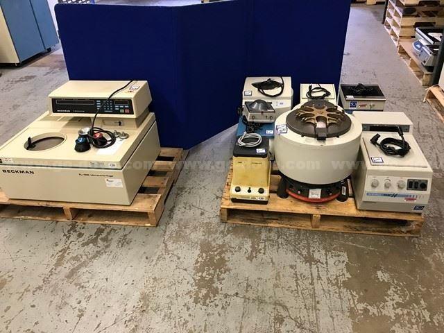 11 Pcs., Laboratory Centrifuges