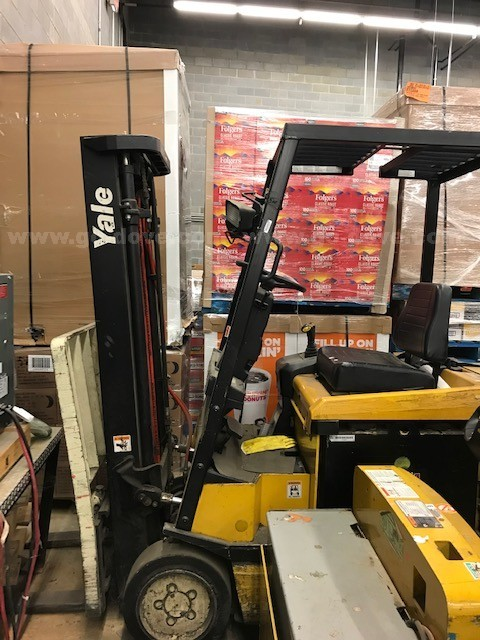2002 Yale Electric Truck Forklift,