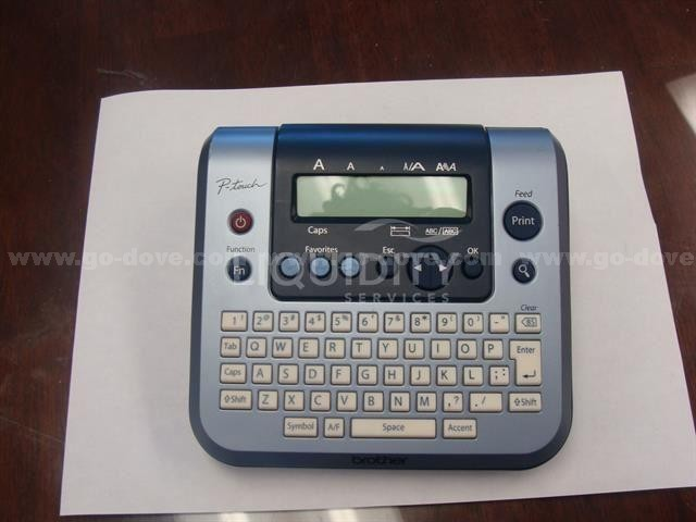 Canon SX200 Camera and Brother PT 280 Label maker