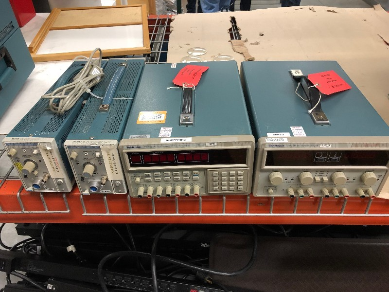 5 Ea. Electronic Test Equipment