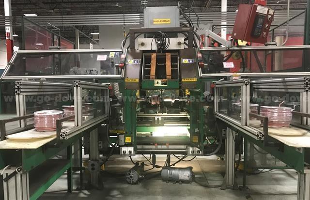Effective Production Solutions Inc. Hallenbach Custom Wire Dispenser/Winder