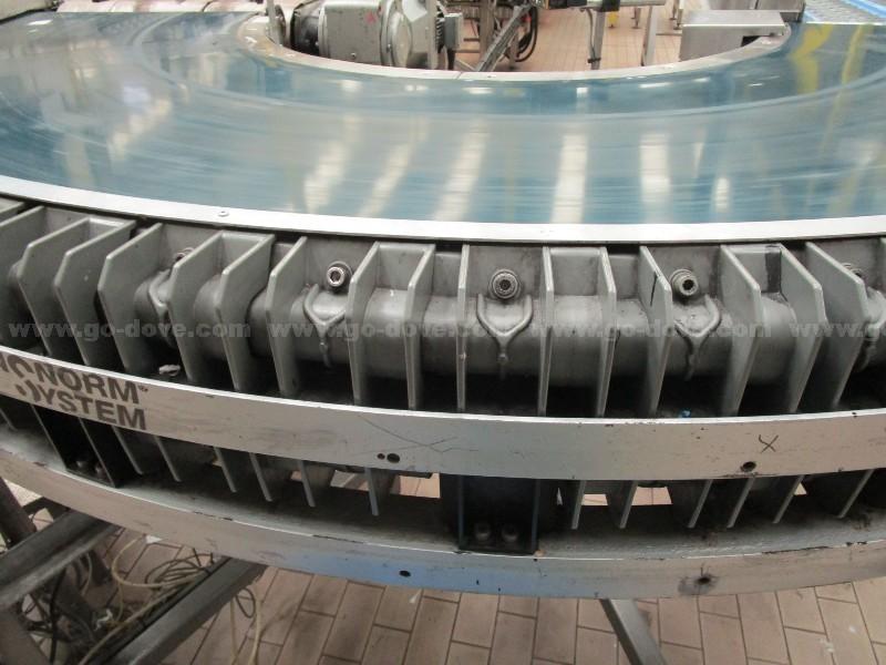 Packed Bottle Transfer Buffer Conveyor