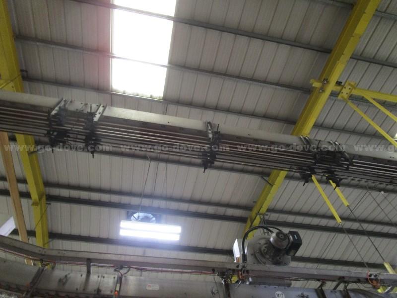 High Level Bottle Air Conveyor