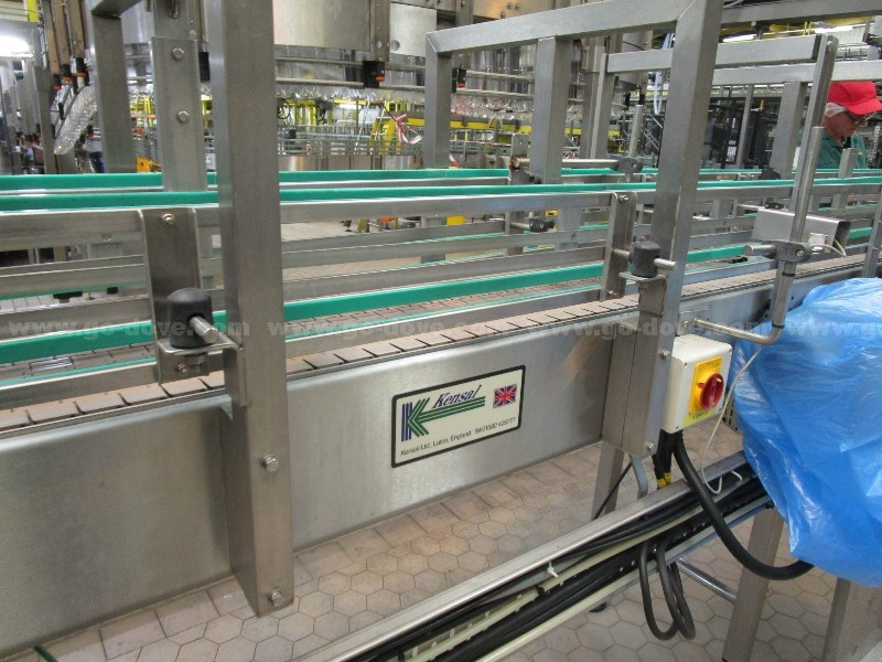Outfeed Bottle Buffer Conveyor System