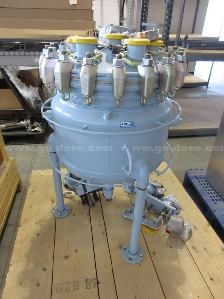 20 Gallon Pfaudler Glass Lined Reactor (Body Only)