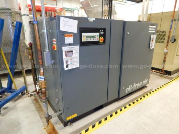 Atlas Copco ZR55 Oil-Free Air Compressor