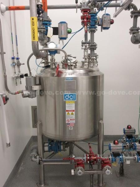 300 Liter DCI Hastelloy C22 Pressure Vessel