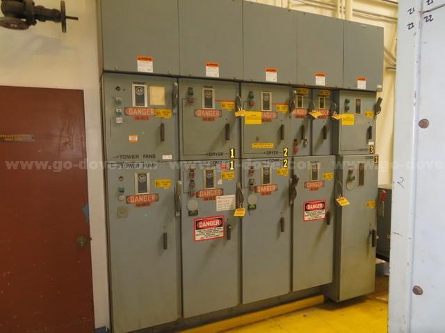 Allen Bradley 5 Rack MCC Panel