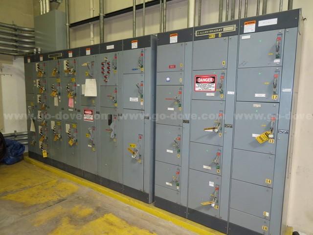 Allen Bradley 10 Rack Switch Panel