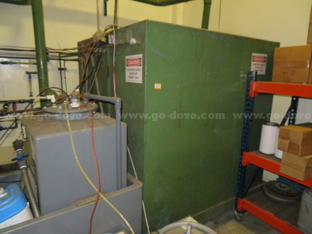 Water Chiller System for Air Compressors