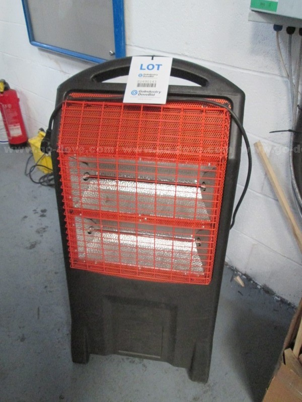 2 Bar Infa Red Heater